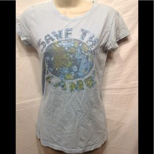 "Women's size Medium LOL ""Save the Planet"" t-shirt"